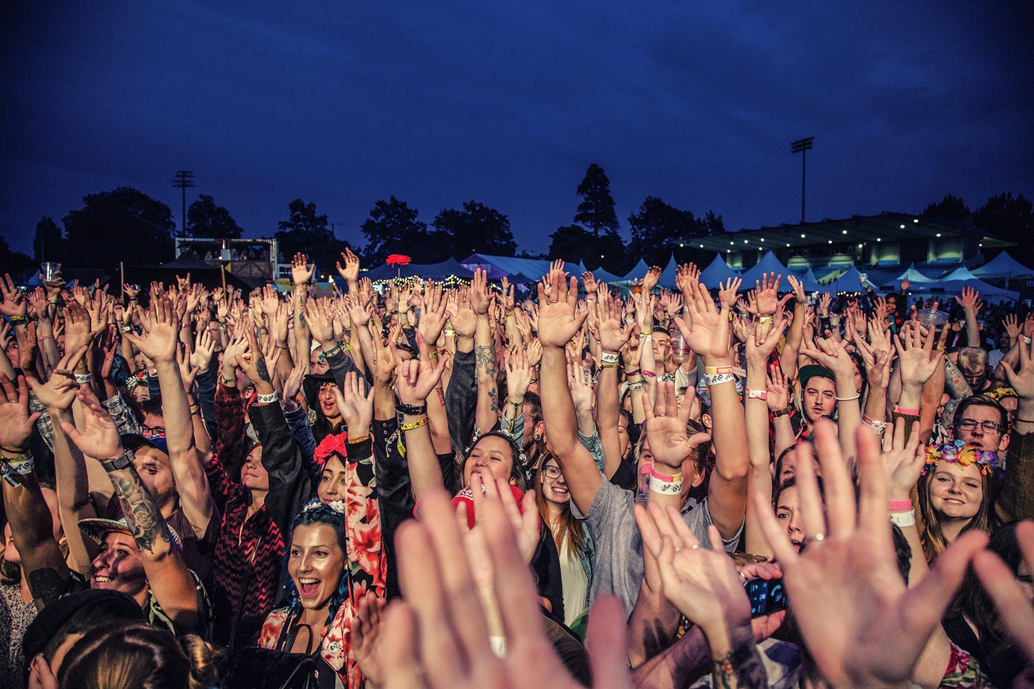 Fans enjoed the Rifflandia show